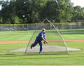 A Screen Baseball Protective Screen
