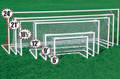 Kwik Goal Deluxe Painted European Club Goal - Various Sizes