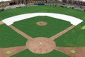 Baseball Infield Arc Skinned Area Tarp - Little League or Regulation