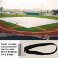 Premium Series Full Infield Cover-Standard 10 mil - LL/Softball