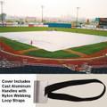Premium Series Full Infield Cover-Standard 10 mil - Baseball