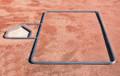 Standard 3' X 7' Softball Batter's Box Template