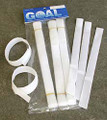 10'' Touch Fastener Quick Ties For Goal Nets