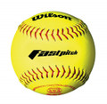 Wilson ASA Leather 12'' Fastpitch Softballs