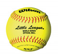 Wilson Little League Leather 12'' Fastpitch Softballs