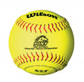Wilson Pony League Leather 11'' Fastpitch Softballs
