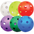 Multi Color Perforated Poly Softballs