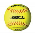 Wilson A9317B Soft Compression Fastpitch Softballs