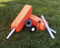 Marksmart Football Field End Zone Pylon Set With Ground Sockets