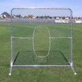 OIP Softball 7'H x 8'W Center Cut-Out Pitcher's Screen