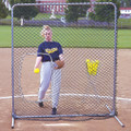 Jugs Softball Screen With Cut-Out Replacement Net