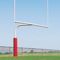 Pro Style Gooseneck Goal Posts - 30' High School Model