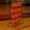 4-Tier Wide Body Basketball Cart (16 Ball Capacity)