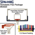 Spalding Collegiate Slam-Dunk Pro Package