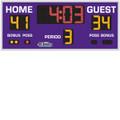 Indoor Basketball, Volleyball & Wrestling Scoreboard Model 8206