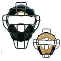 Champro Pro-Plus Super-Lite Umpire Mask Leather Biofresh® Pad System