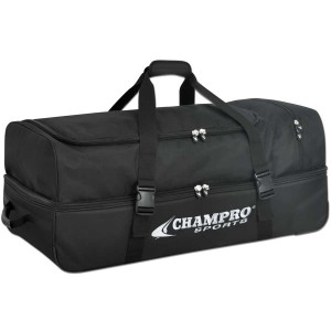 Champro E51 Wheeled Umpire Catchers Bag 36 X 16 X 18 Valley