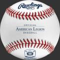 Rawlings AMERICAN LEGION GAME Baseball; R100-AL