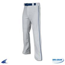 Grey Pant w/ Navy Piping