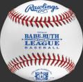 Rawlings Babe Ruth Regular Season Baseballs; RBRO1