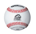 Wilson Pony League Regular Season Baseballs; WTA1075BPL1
