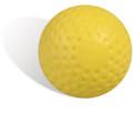 JUGS Yellow Dimpled Pitching Machine Baseballs