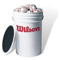 Wilson A1098 XOUT 3 Dozen Baseball Bucket