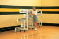 "3-Row Tip N' Roll Bleachers (7'6"", 15', 21', 27')"
