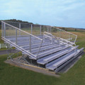 10-Row Deluxe Bleachers (15', 21', 27')