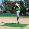 ProMound On-Field Game Mound - Minor League - Green and Clay