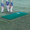 Proper Pitch Regulation On-Field Game Mound - Green and Clay