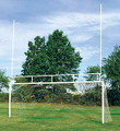 Combination Football And Soccer Goal