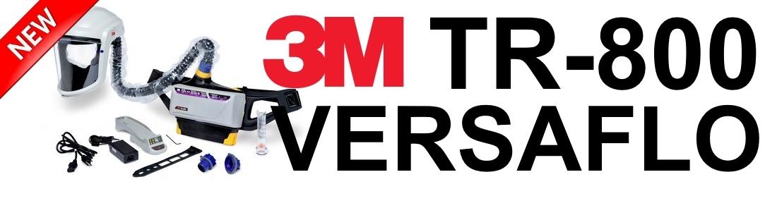 Introducing The 3m Versaflo Tr 800 Series 3ms New Intrinsically
