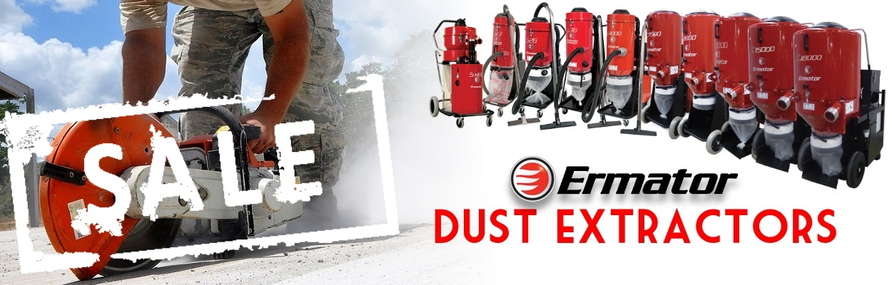 Ermator Dust Extractors