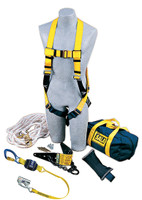 DBI-SALA Roofer's Fall Protection Kit - Heavy-Duty Anchor - 2104168
