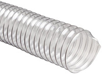 "Heavy Duty Clear PVC Flex Duct - 12""x25' - 1 Each"