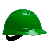 3M Hard Hat H-704P, Green 4-Point Pinlock Suspension, 20 EA/Case