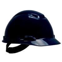 3M Hard Hat H-710P, Navy Blue 4-Point Pinlock Suspension, 20 EA/Case