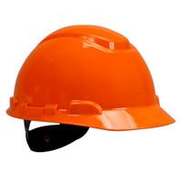 3M Hard Hat H-706R, Orange 4-Point Ratchet Suspension, 20 EA/Case
