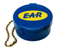 3M Earplug Carrying Case 390-9003, with Chain 200 EA/Case
