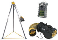 MSA Premium All-In-One Complete Confined Space Entry Kit