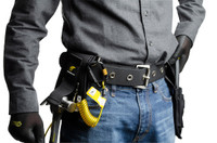 Python Safety™ Hammer Holster - Belt with Hook2Quick Ring Coil Tether with Tail - 1500094