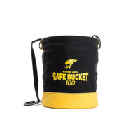 Python Safety Safe Bucket 100lb Load Rated Drawstring Canvas - 1500133