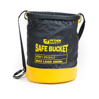 Python Safety 5 Gallon Safe Bucket 100lb Load Rated Hook and Loop Canvas - 1500135