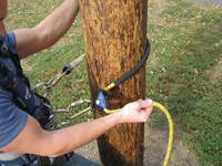 Adjustable Rope Positioning Lanyard