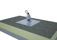 2100142 Roof Top Anchor for Bitumin Membrane and Built-Up Roofs