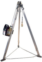 DBI-SALA Advanced 7 ft. Aluminum Tripod with Salalift II 90 ft.Winch - 8300032