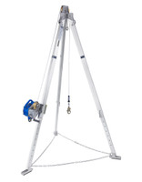DBI-SALA Advanced 9 ft.Aluminum Tripod with Sealed-Blok 50 ft. 3-Way SRL - 8301035