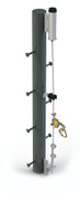 Lad-Saf Steel Pole (Weld-On) Ladder Safety System
