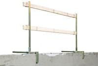 Portable Construction Guardrail System